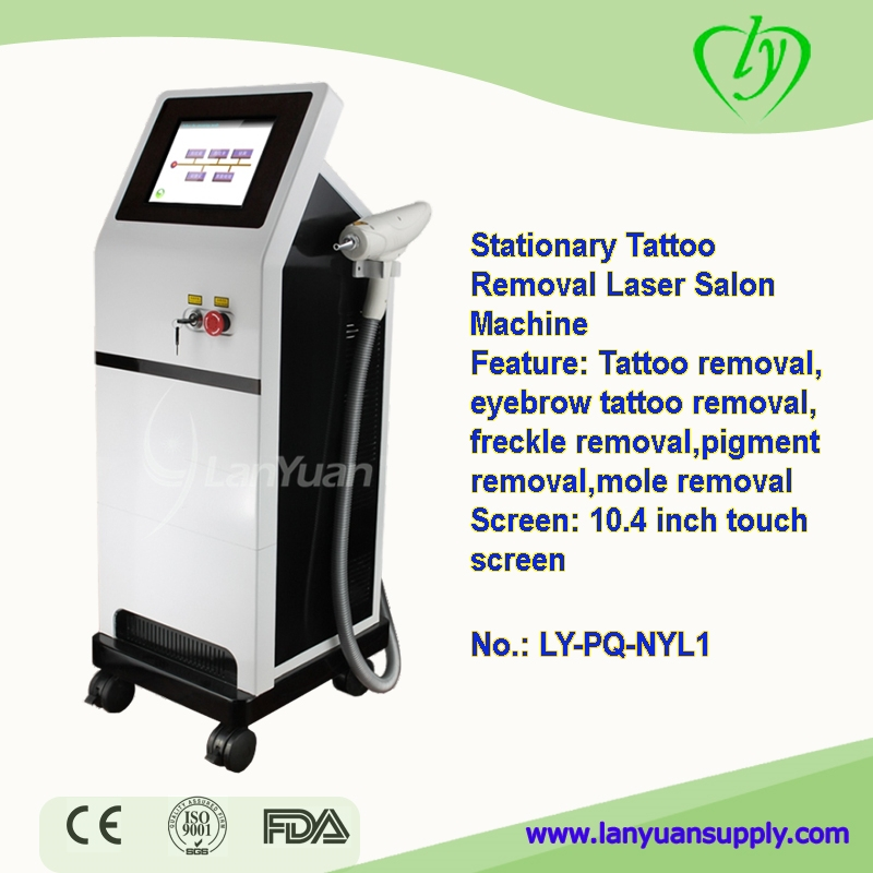 Tattoo removal salon machine freckle removal salon machine for Laser tattooing machines