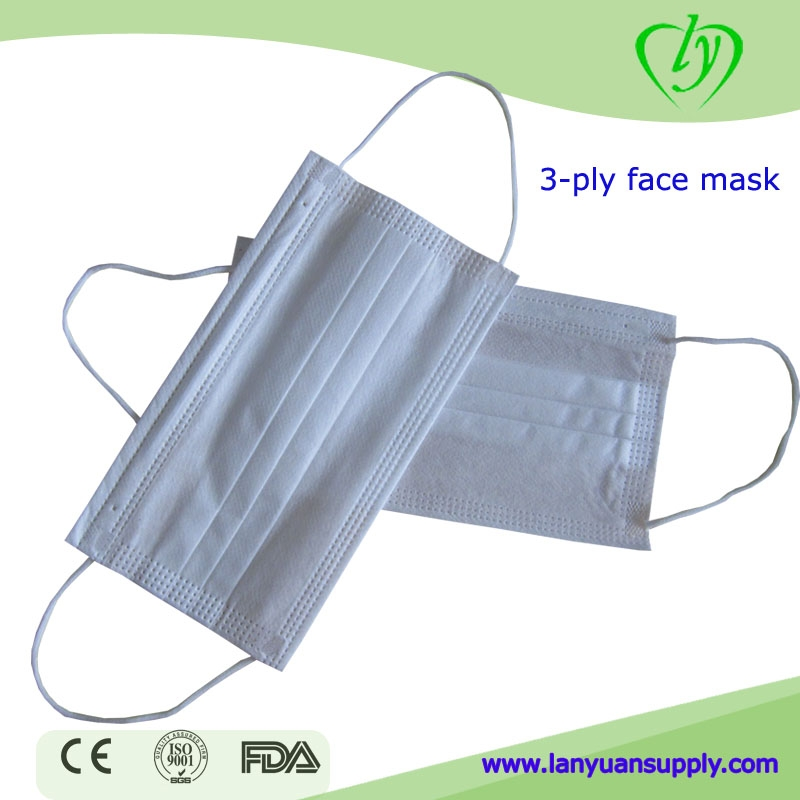 masque jetable medical blanc